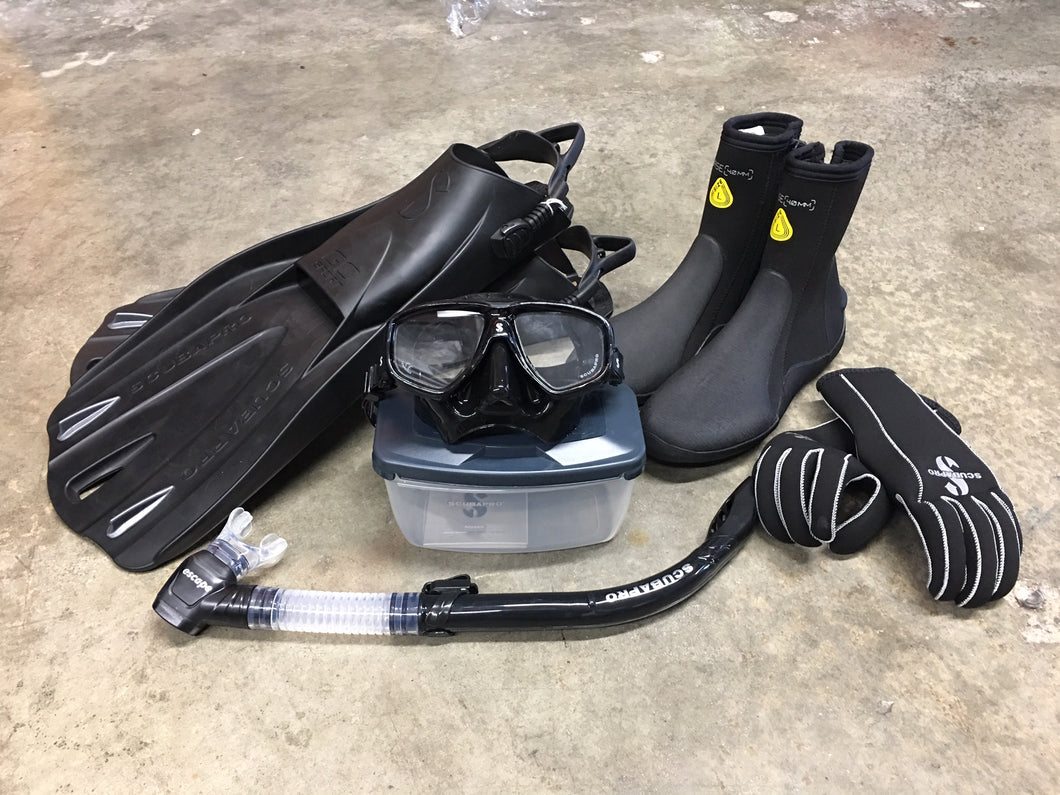 Deluxe Scuba Pro Person Bundle set