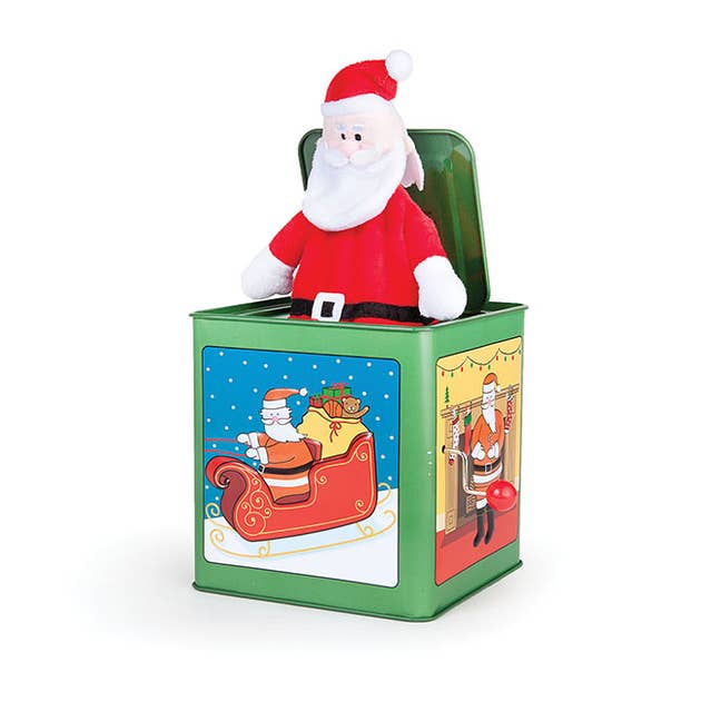 Santa Jack in the Box