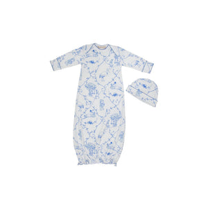 Adorable Everyday Set - Chinoiserie Chap - Barbados Blue