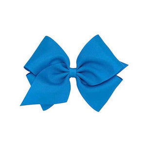 Wee Ones Mini King Grosgrain Bow - Multiple Color Options