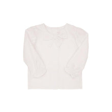 Load image into Gallery viewer, Beatrice Bow Blouse - Worth Avenue White