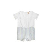 Load image into Gallery viewer, Beauregard Button-Ins - Worth Ave White w/ Sir Proper Sunny Plaid