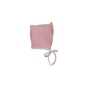 Bundle Me Bonnet - Palm Beach Pink w/ Worth Ave White