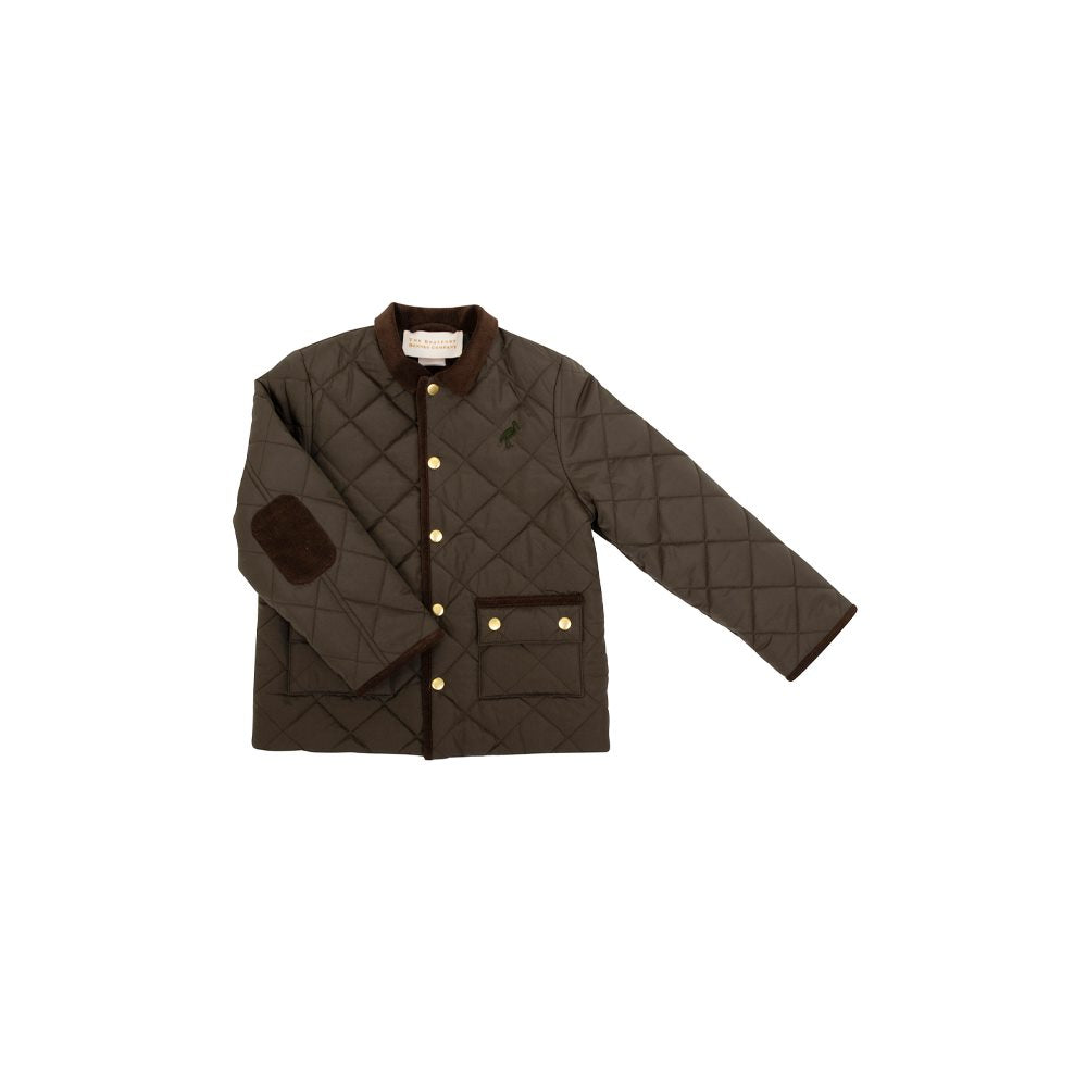 Caldwell Quilted Coat - Montague Moss w/ Chelsea Chocolate
