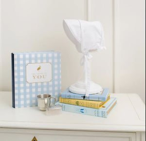 T.B.B.C. x Simplified Baby Book - Blue Gasparilla Gingham
