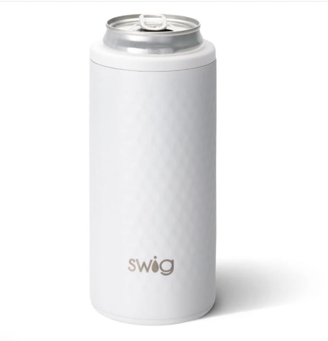 Swig Skinny Can Cooler - Golf Partee