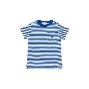 Carter Crewneck (with Pocket) - Rockefeller Royal Stripe