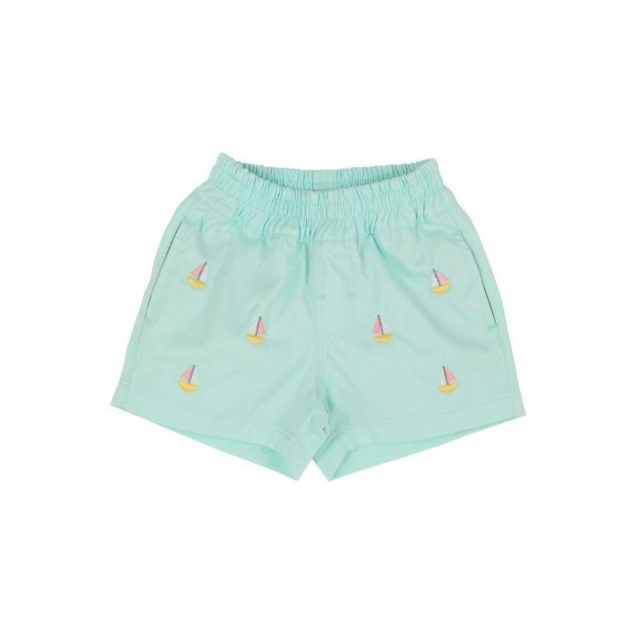 Critter Sheffield Shorts - Sailboat