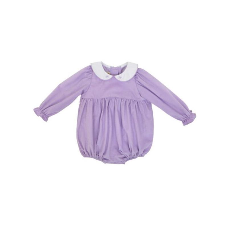 Holly Day Bubble - Lauderdale Lavender - Corduroy - Long Sleeve
