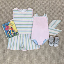 Load image into Gallery viewer, Mae Ryan Romper - Rainbow Row Stripe