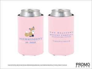 Merriment on Main Logo Coozie