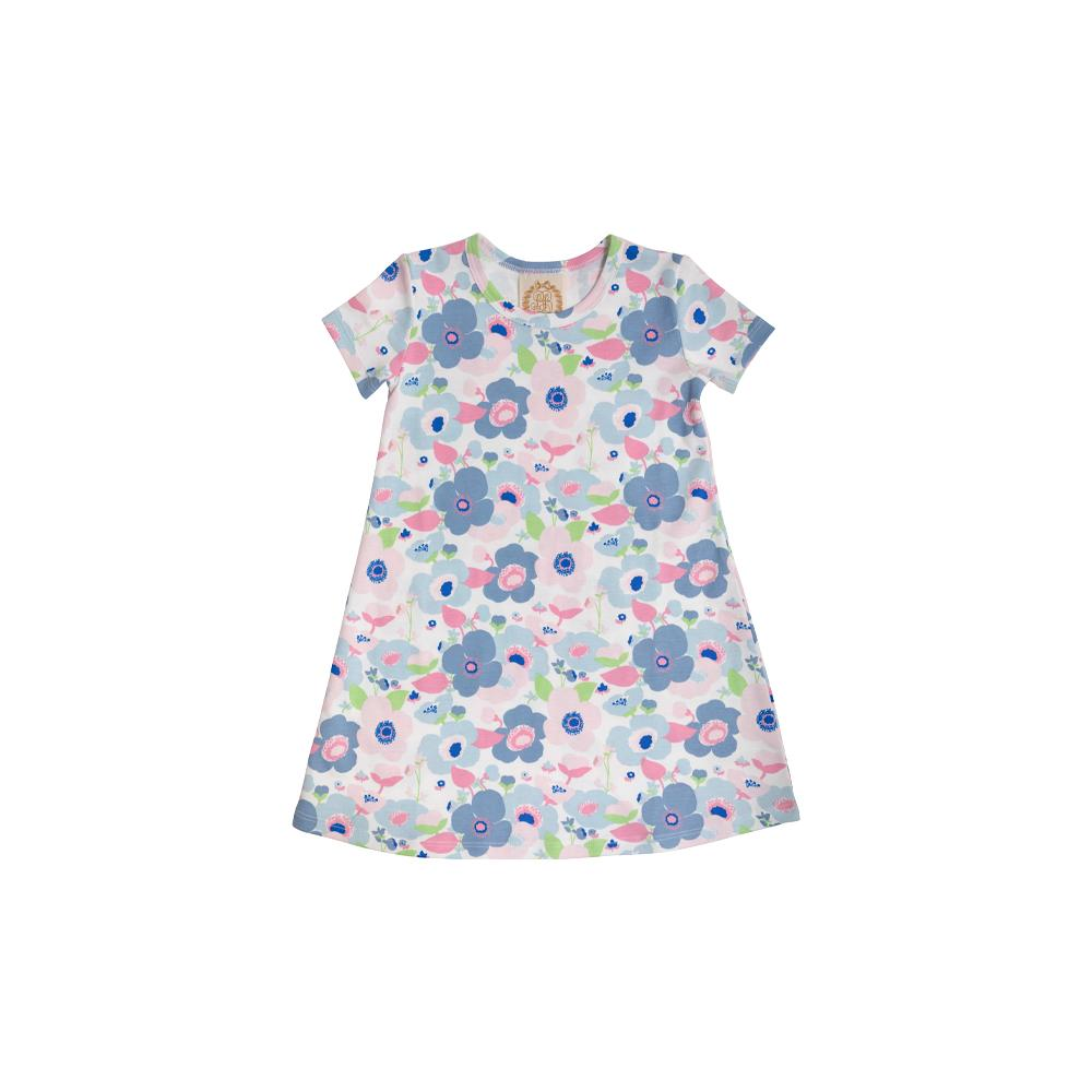 Polly Play Dress - Palm Springs Peony