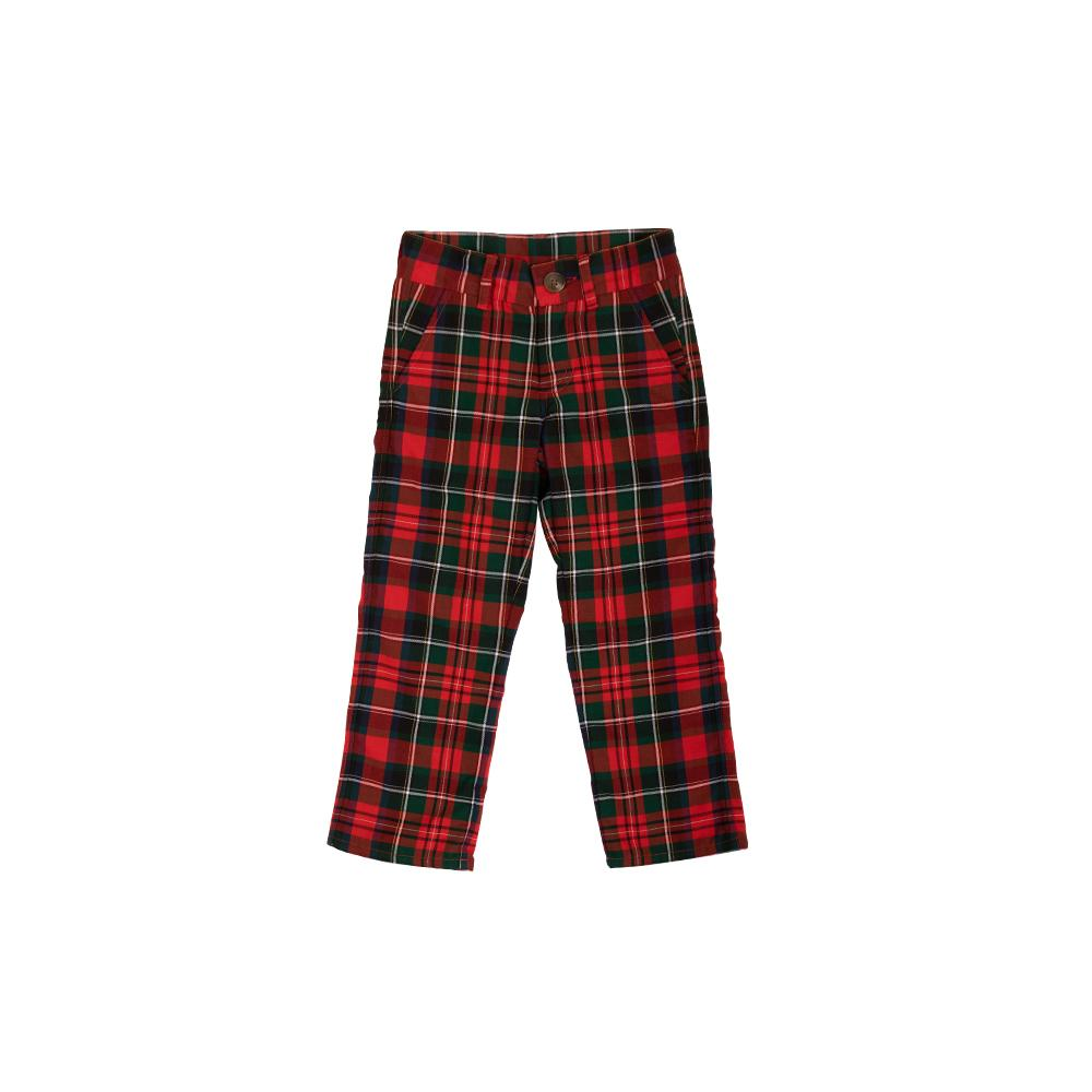 Prep School Pants - Jamestown Tartan