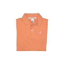 Load image into Gallery viewer, Prim & Proper Polo - Seashore Sherbet w/ Palm Beach Pink - Short Sleeve - Pima