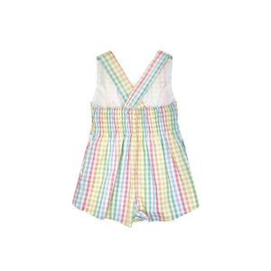 Reagan Romper - Old Preston Plaid