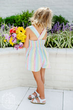 Load image into Gallery viewer, Reagan Romper - Old Preston Plaid