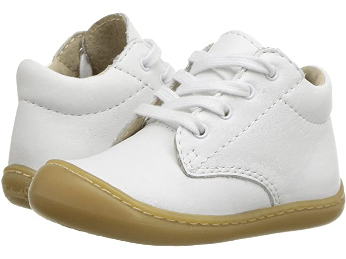 Footmates Reagan Shoe - White Nappa