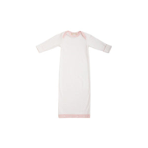 Sadler Sack Gown - Palm Beach Pink Microdot