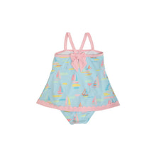 Load image into Gallery viewer, Stratford Scallop Swimsuit - Sandy Port Sailboats