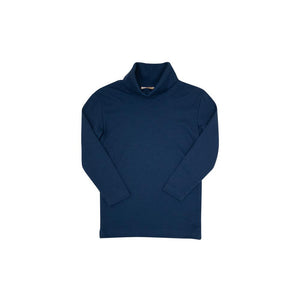 Tatum's Turtleneck Shirt - Nantucket Navy