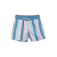 Load image into Gallery viewer, Turtle Bay Swim Trunks - Cayman Cabana Stripe
