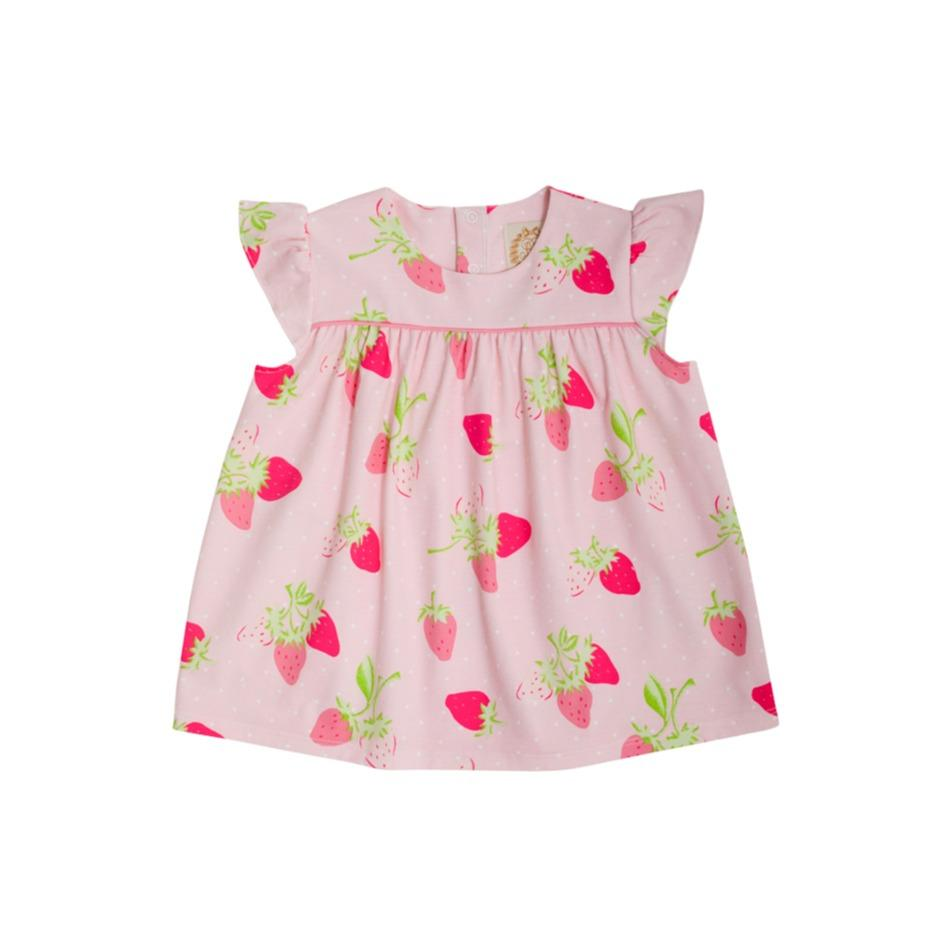 Dowell Day Top - Summershade Strawberry