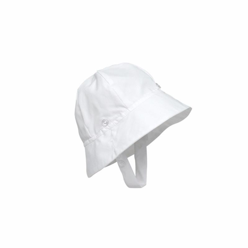 Beaufort Bucket Hat - Worth Ave White - Broadcloth