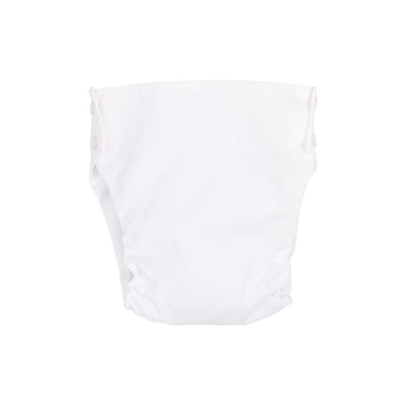 Dalton Diaper Cover - Broadcloth - White or Buckhead Blue