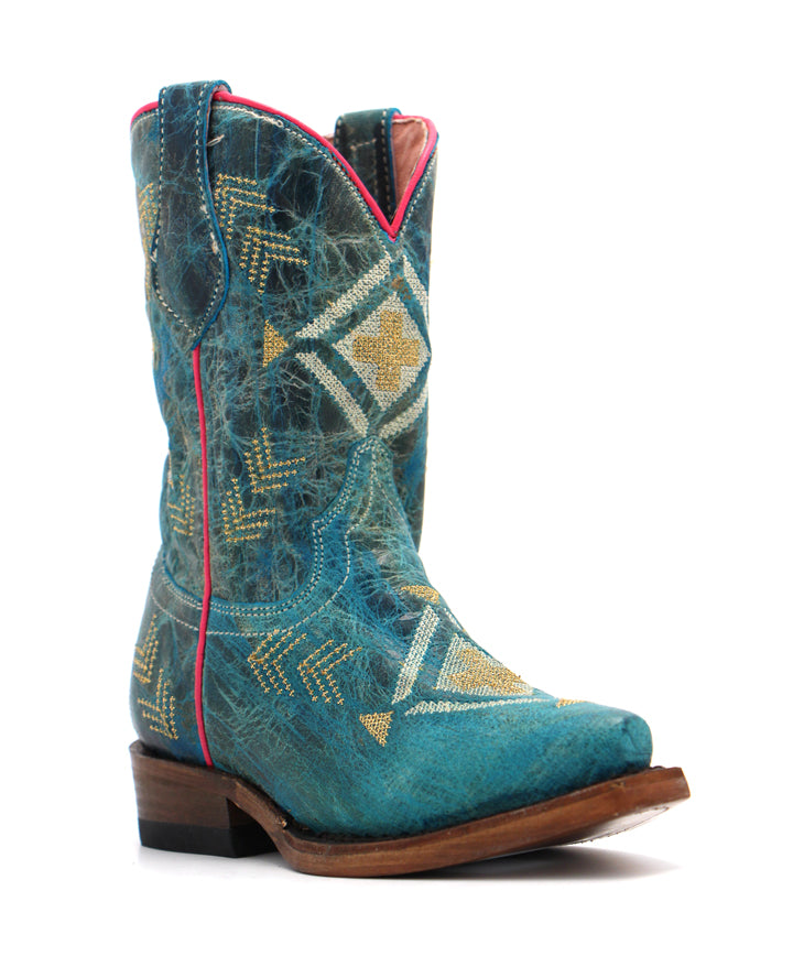 Roper Children's Native Embroidery Boot