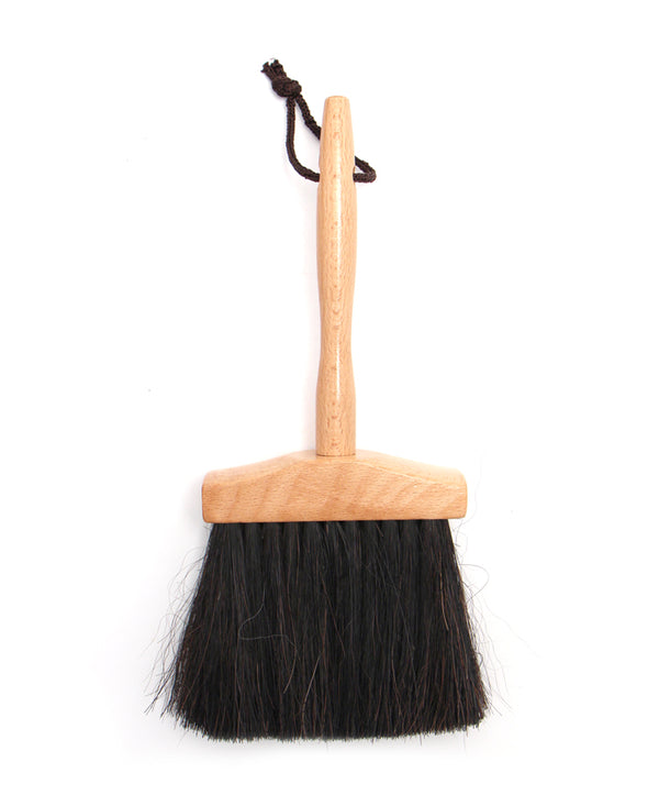 Hat Crown Brush - Black Horsehair