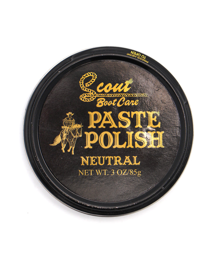 Scout Leather Boot Polish Paste - Neutral