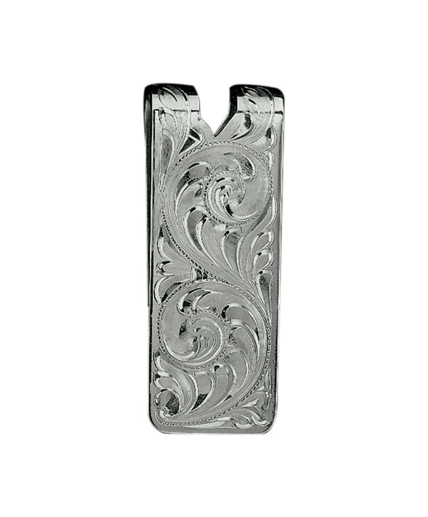 Vogt Fully Hand Engraved Money Clip