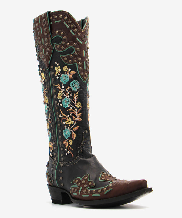 Double D Ranch Round Up Rosie Boot
