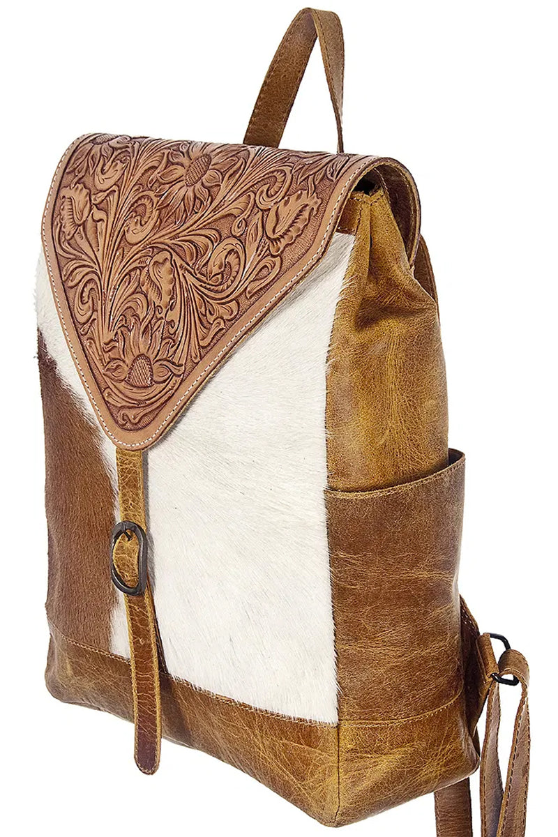 TOOLED FLAP BACKPACK