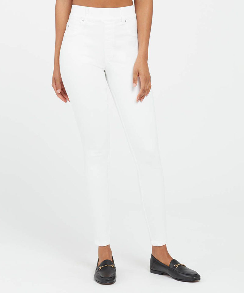 Spanx Ankle Skinny Jeans in White