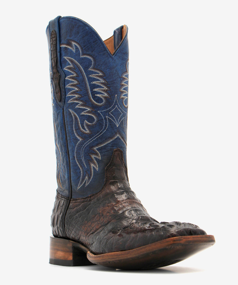 Black Jack Brush-Off Hornback Caiman Boot