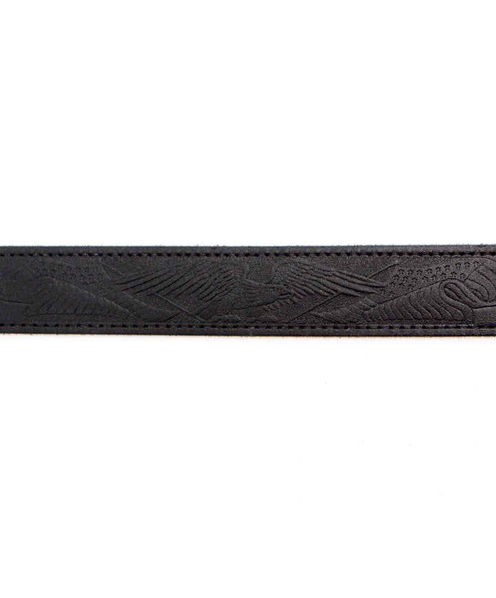 Marc Wolf American Eagle Belt in Black