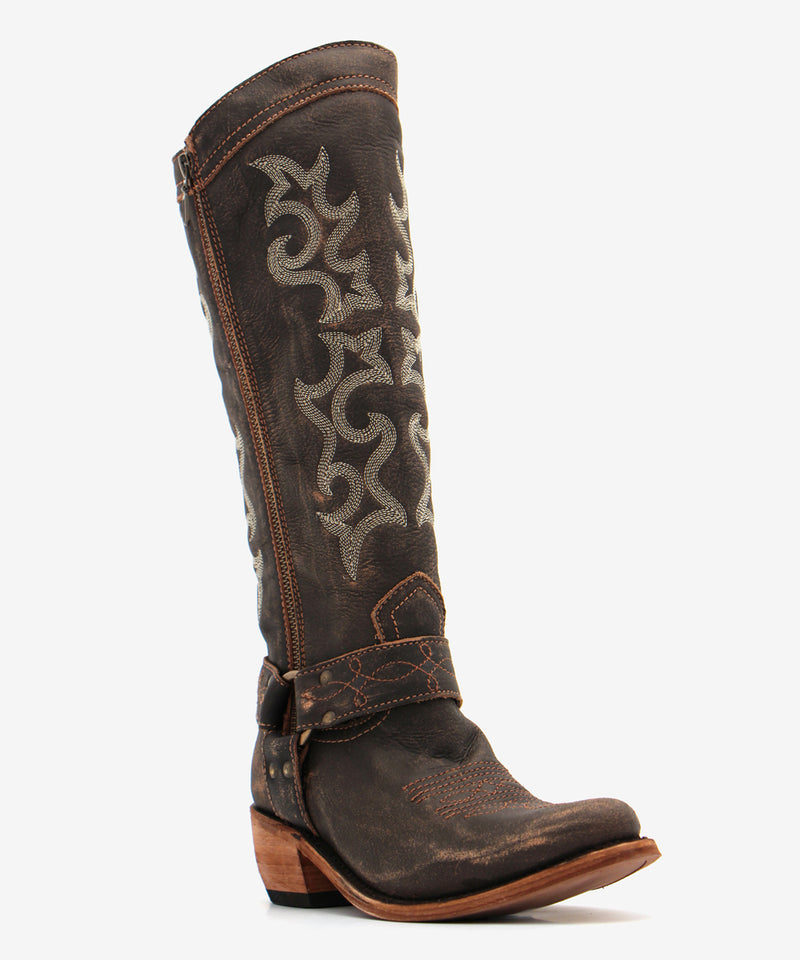 Liberty Black Taylor Boot in Vintage Canela