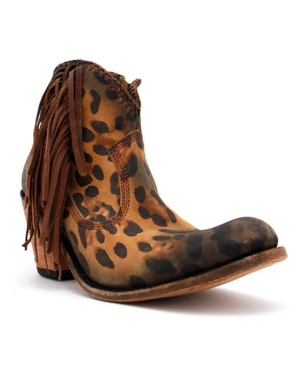 Liberty Black Chloe Bootie in Tan Cheetah
