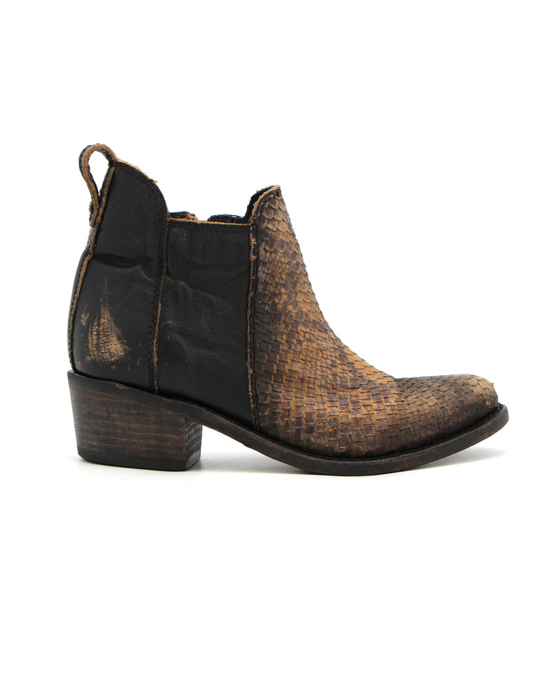 Liberty Black Elsa Bootie in Python