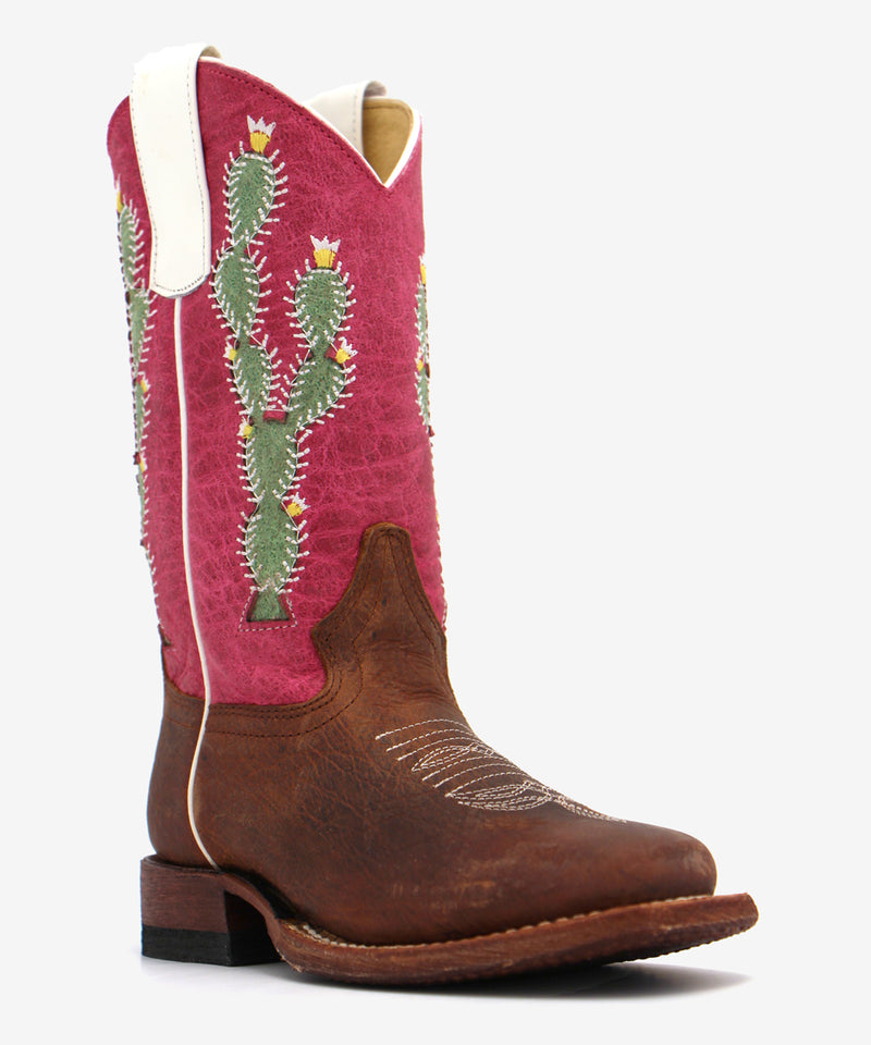 Macie Bean Prickled Pink Kids Boot