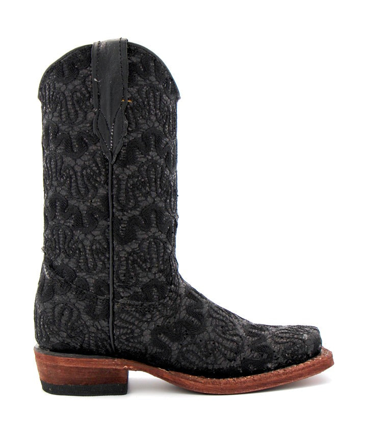 Tanner Mark Toddler's Black Sequin Boot