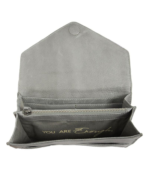 STS Ranchwear Silo Wallet in Light Gray