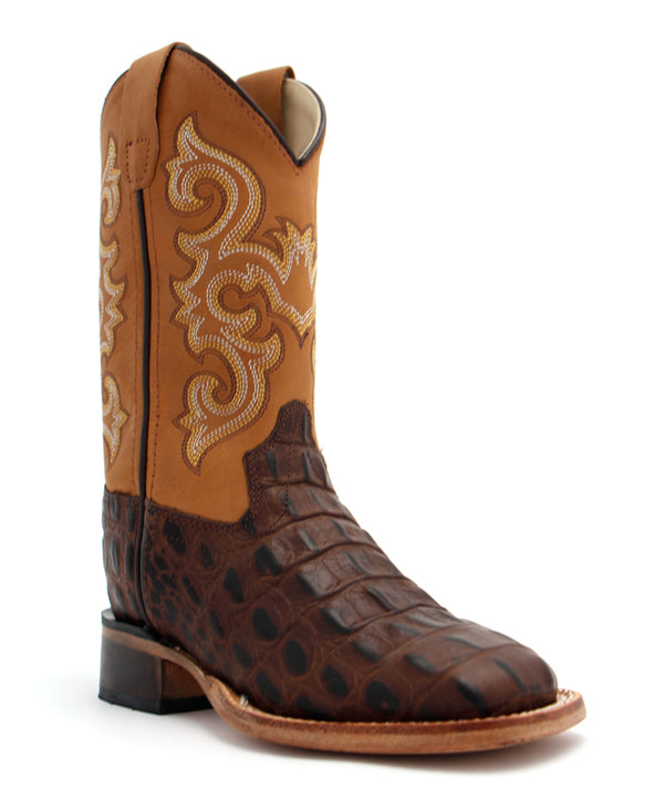 Old West Children's Gator Print Boot