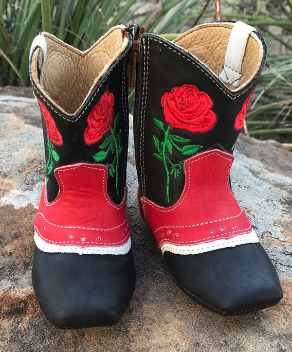 Shea Baby Infant Ruby Rose Boots
