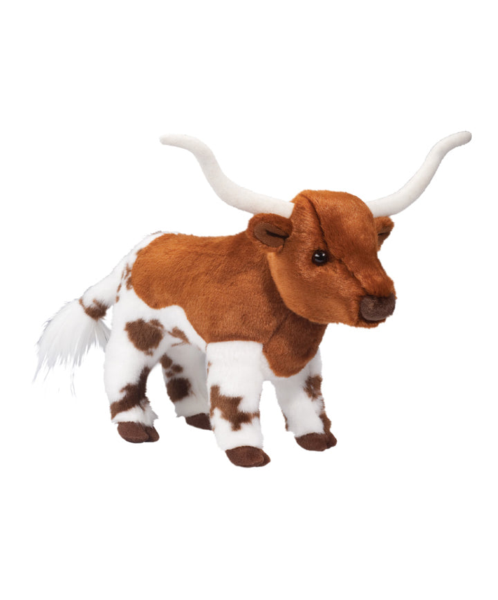 Fitzgerald the Longhorn Plush