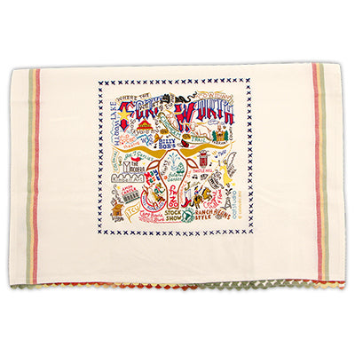 Catstudio Fort Worth Dish Towel