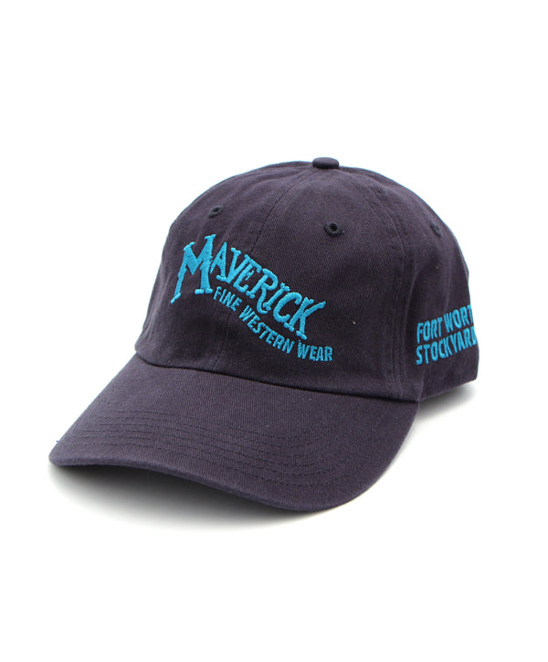 Maverick Logo Cap in Navy