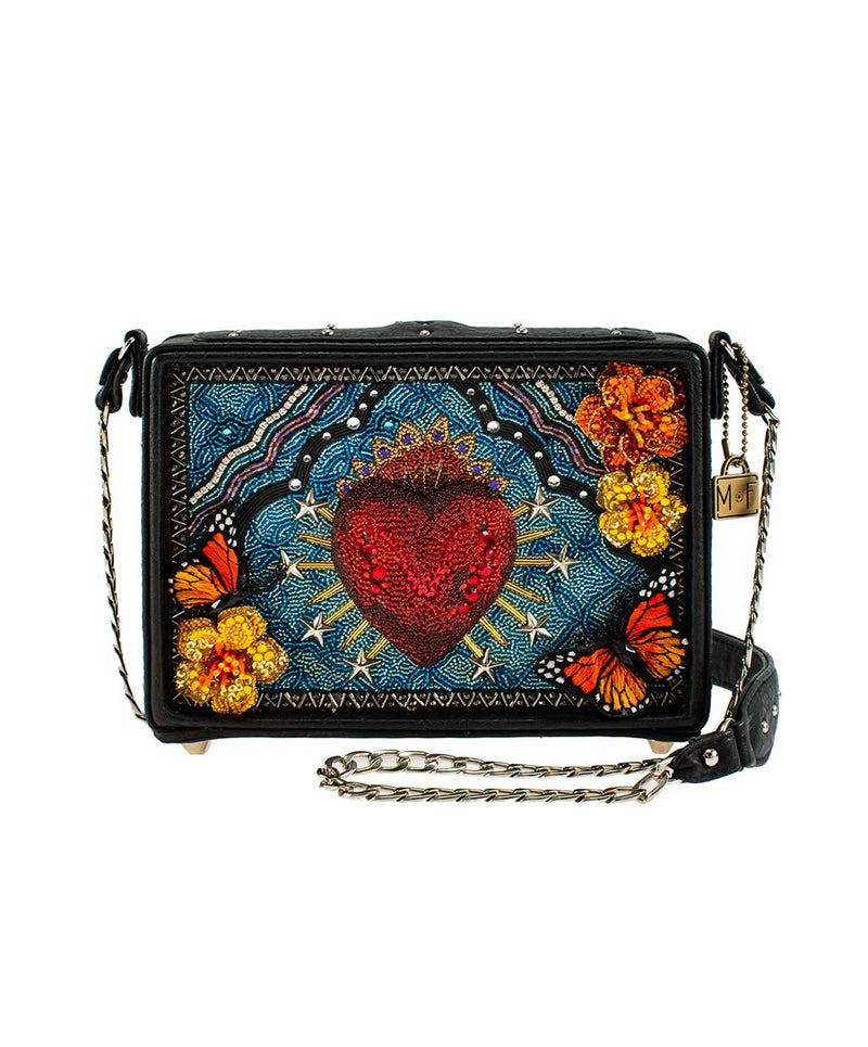 Mary Frances Day of the Dead Crossbody Bag