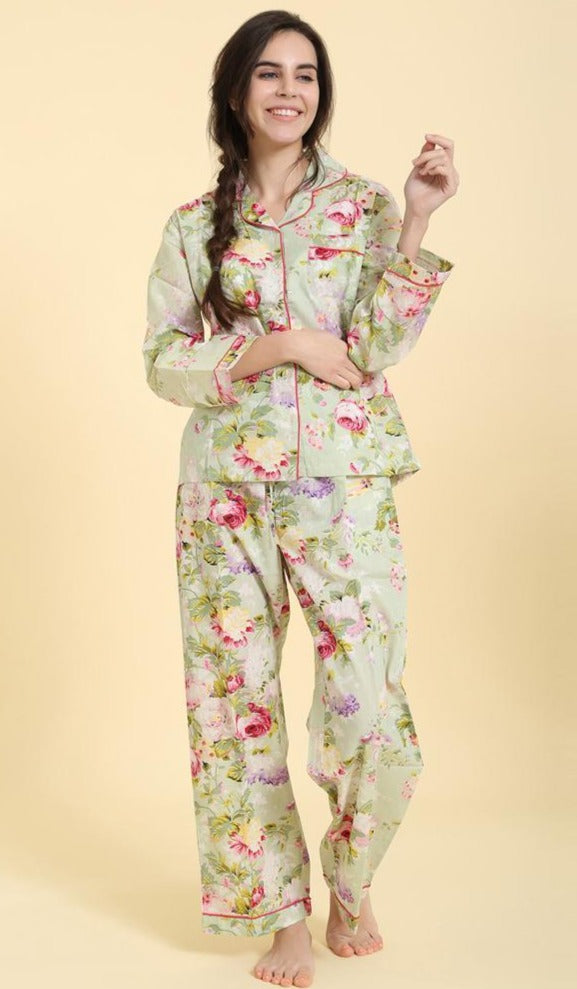 Bridgette Green, 2pc PJ